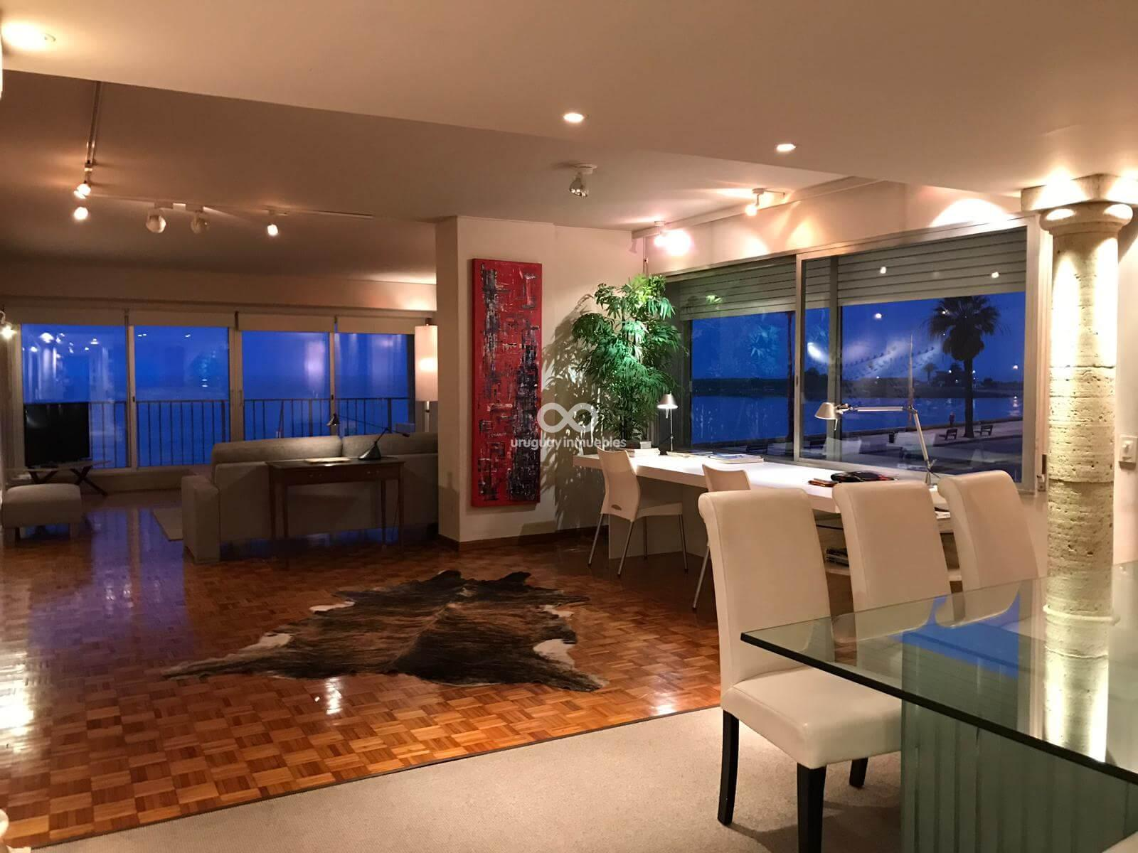 Apartamento con muebles zona pocitos